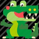 alligator, animal, crocodile, predator, reptile