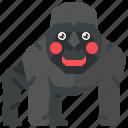 animal, ape, gorilla, kingkong, kong, mammal, monkey icon
