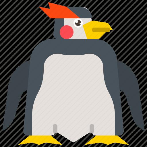 animal, bird, penguin, white, wildlife icon