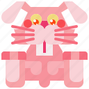 animal, bunny, easter, mammal, pet, rabbit icon