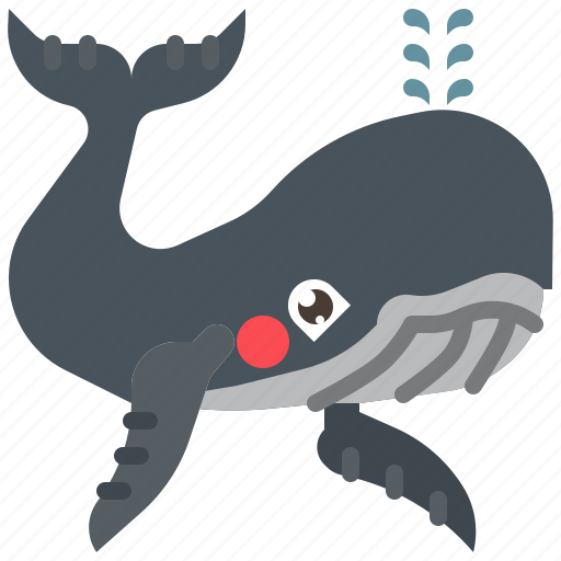Animal, fish, mammal, ocean, sea, whale icon - Download on Iconfinder
