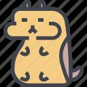 animal, avatar, character, hamster, wild