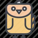 animal, avatar, character, chick, wild icon