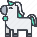 animal, avatar, character, unicorn, wild icon
