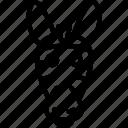 animal, animals, face, smiley, zebra, zebras icon