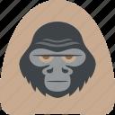 chimpanzee, gorilla, orangutan, primate icon