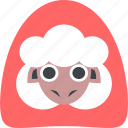 farm, lamb, sheep, wool icon