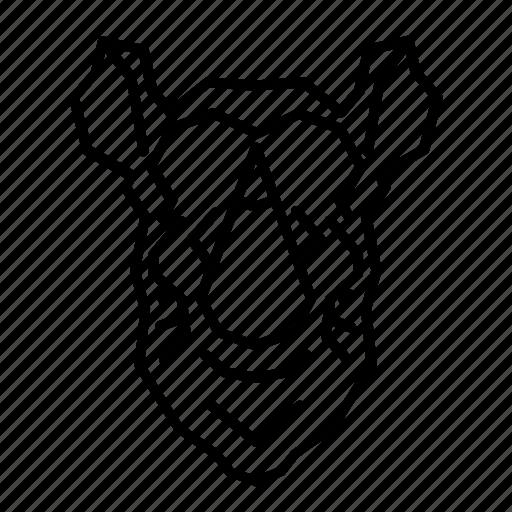 Africa, animal, face, head, rhino, rhinoceros, wild icon - Download on Iconfinder