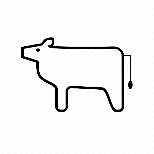agriculture, bull, cow, ecology, farm, milk, nature icon