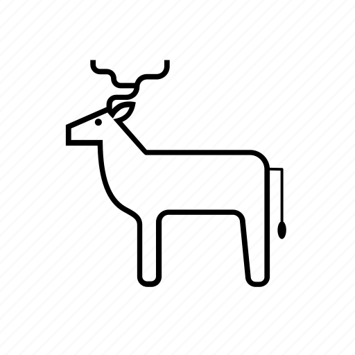 animal, christmas, deer, nature, pet, reindeer, xmas icon