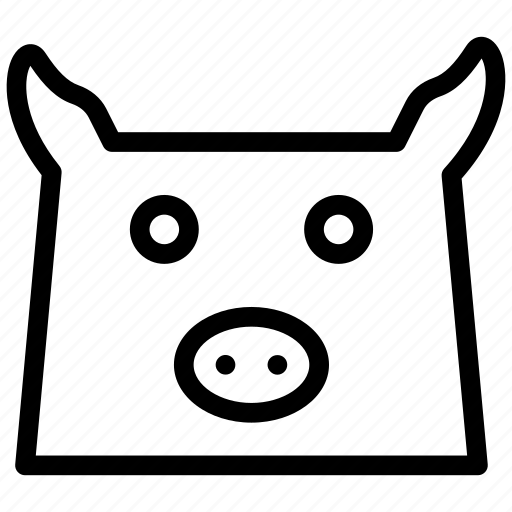 animal, farm, oveja, sheep icon