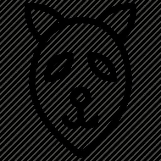 animal, fox, mammal, zoo icon