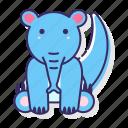 animal, anteater, mammal icon