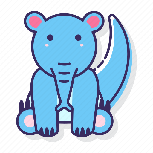 Anteater, animal, mammal icon - Download on Iconfinder