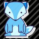 animal, arctic, fox icon