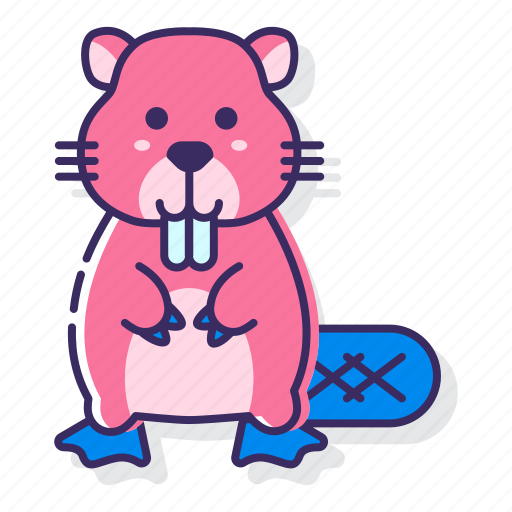 Beaver, animal, rodent icon - Download on Iconfinder