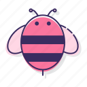 bee, bug, fly, insect icon