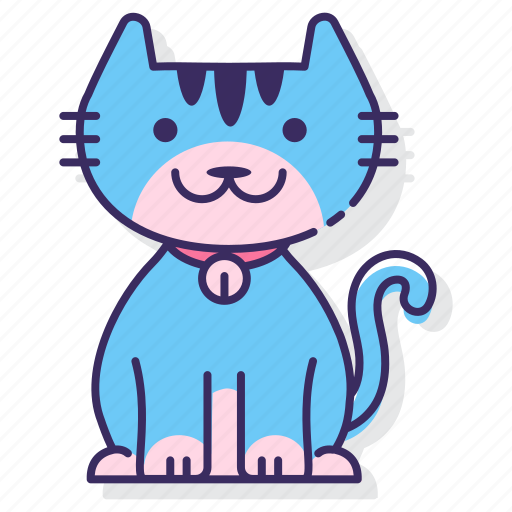 Cat, animal, kitty, pet icon - Download on Iconfinder