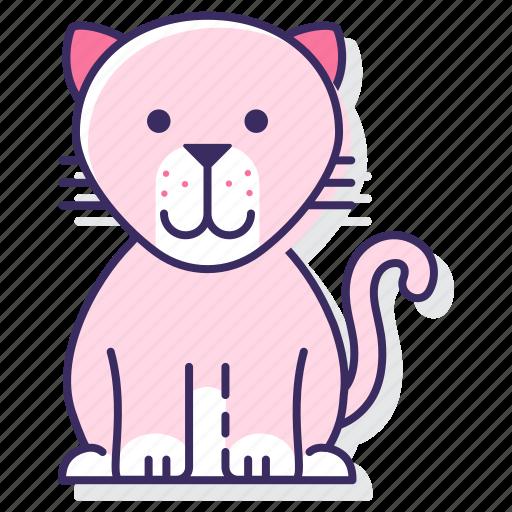 big, cat, cougar icon