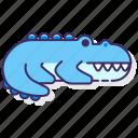 crocodile, aligator, animal
