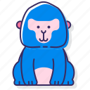 ape, gorilla, monkey icon