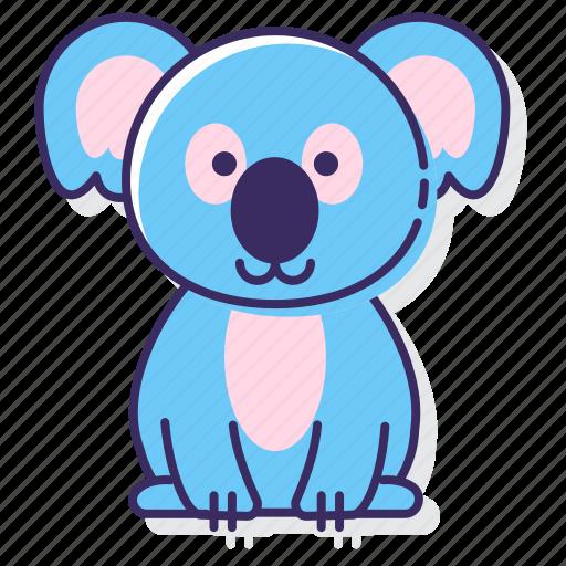australia, bear, koala icon