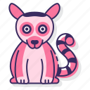 lemur, animal, mammal, zoo