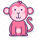 animal, ape, monkey icon