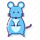 animal, mouse, rodent icon