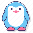 animal, bird, penguin icon