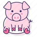 farm, pig, piggy icon