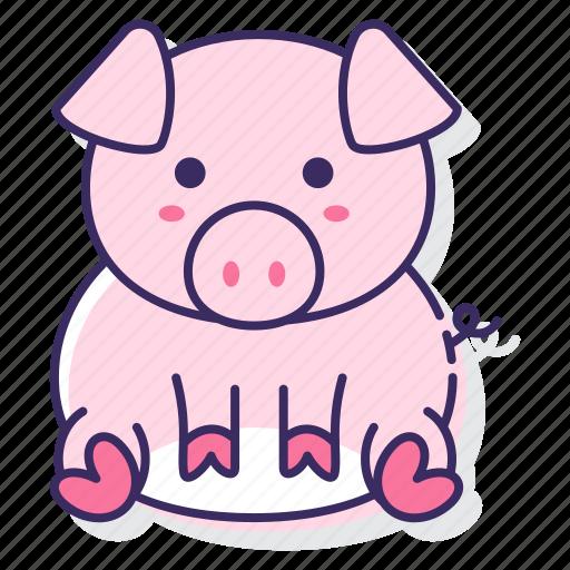 farm, pig, piggy icon