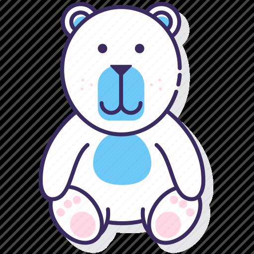 animal, bear, polar icon
