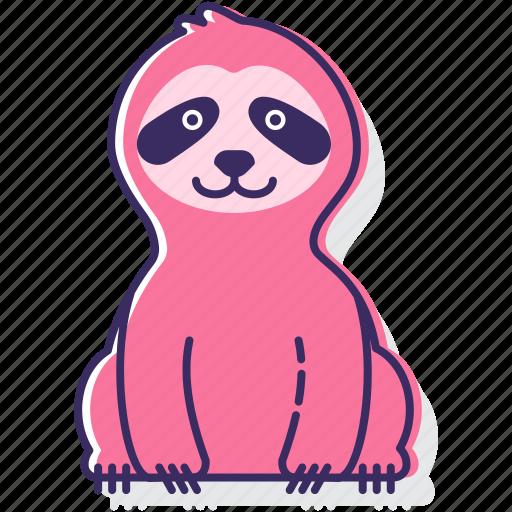 animal, lazy, sloth icon