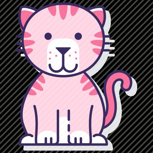 big, cat, tiger icon