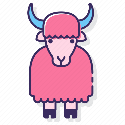 Yak, buffalo, bull icon - Download on Iconfinder