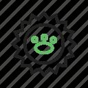 animal, logo, monkey, pet, shop, stamp