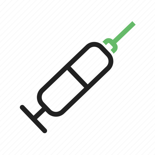 Drug, injection, medicine, needle, syringe, treatment, vaccination icon - Download on Iconfinder
