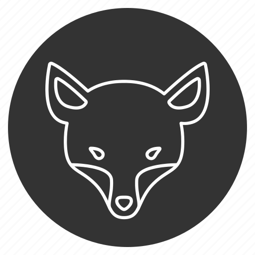 animal, animals, avatar, dog, firefox, fox, snout icon