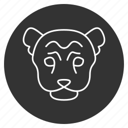 beast, creature, hiena, hyaena, hyena, meanness, predator icon