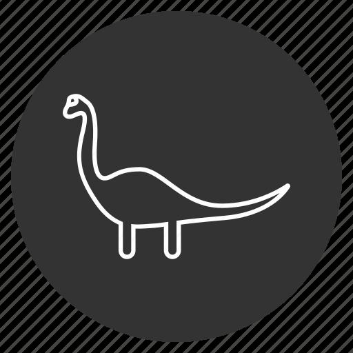 dino, dinosaur, diplodocus, jurassic, paleontology, prehistoric animals, reptile icon