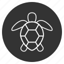 animal, creeper, reptile, testudinate, tortoise, tortoiseshell, turtle icon