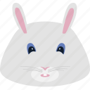 animal, coney, hare, puss, rabbit icon