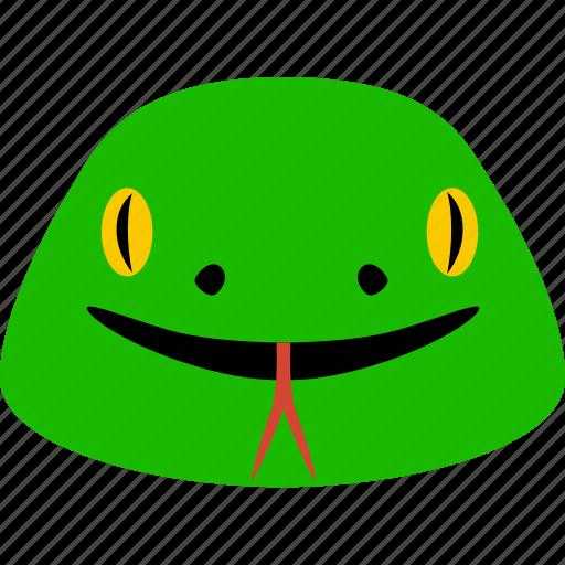 animal, asp, cobra, ophidian, serpent, snake, viper icon