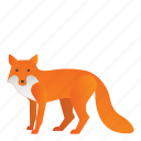 animal, fox, mammal, wild, wildlife icon