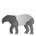 animal, mammal, tapir, wild, wildlife icon