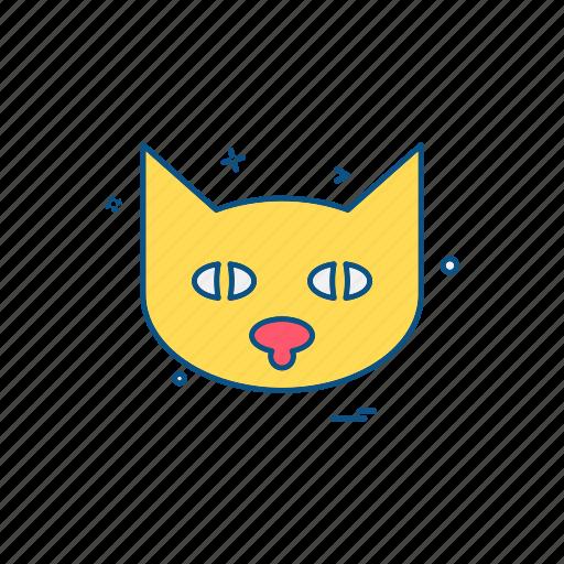 animal, cat, pet, wildlife icon