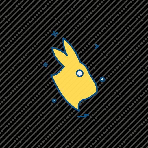 animal, forest, rabbit, wildlife icon
