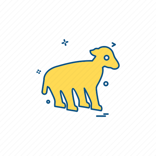 animal, pet, sheep, wildlife icon