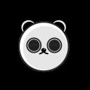 animalia, chinesse, cute panda, panda, zoo icon